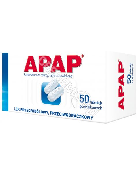 US PHARMACIA Apap 500 mg x 50 tabl powlekanych