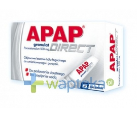 US PHARMACIA SP. Z O.O. Apap Direct 6 saszetek
