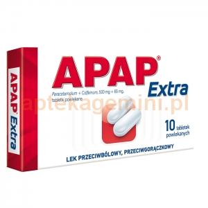 US PHARMACIA SP. Z O.O. Apap Extra 10 tabletek