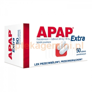 US PHARMACIA SP. Z O.O. Apap Extra 50 tabletek
