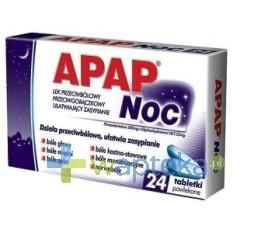 USP ZDROWIE Apap Noc, 24 tabletki