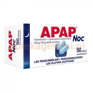 USP ZDROWIE Apap Noc, 50 tabletek
