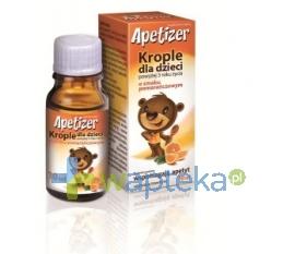 AFLOFARM FARMACJA POLSKA SP. Z O.O. Apetizer Krople dla dzieci o smaku pomarańczowym 10ml