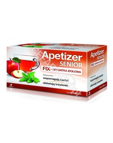 AFLOFARM Apetizer senior herbatka ziołowa x 20 sasz