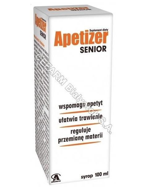 AFLOFARM Apetizer senior syrop 100 ml