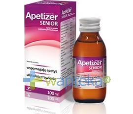AFLOFARM FARMACJA POLSKA SP. Z O.O. Apetizer Senior Syrop o smaku malinowo-porzeczkowym 100ml