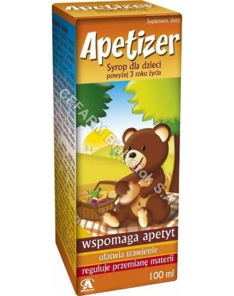 AFLOFARM Apetizer syrop dla dzieci wspomagający apetyt 100 ml