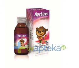 AFLOFARM FARMACJA POLSKA SP. Z O.O. Apetizer Syrop o smaku malinowo-porzeczkowym 100ml