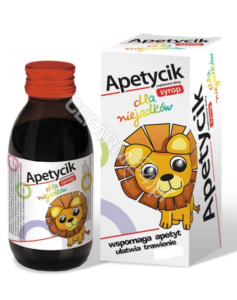 BIOGENED Apetycik syrop dla niejadków 110 ml