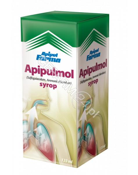 APIPOL-FARMA Apipulmol syrop wykrztuśny dla dorosłych 120 ml