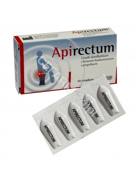 FEMI-LAB Apirectum czopki propolisowe z kwasem hialuronowym x 10 czopków (Femi-Lab)