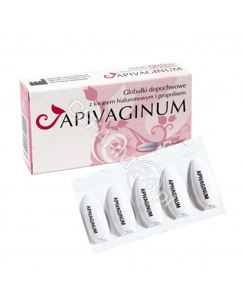 FEMI-LAB Apivaginum globulki propolisowe z kwasem hialuronowym x 5 szt (Femi-lab)