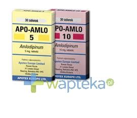 APOTEX EUROPE B.V. Apo-Amlo 10 tabletki 10 mg 30 sztuk