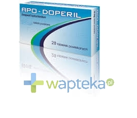 APOTEX EUROPE B.V. Apo-Doperil 10mg tabletki powlekane 28 sztuk
