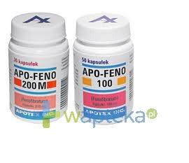 APOTEX EUROPE B.V. Apo-Feno 100 kapsułki 100mg 50 sztuk