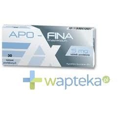 APOTEX EUROPE B.V. Apo-Fina 5mg tabletki powlekane 30 sztuk