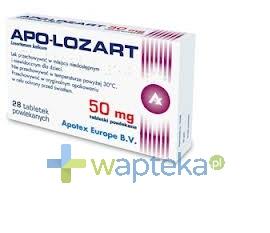 APOTEX NEDERLAND BV Apo-Lozart 50mg tabletki powlekane 28 sztuk