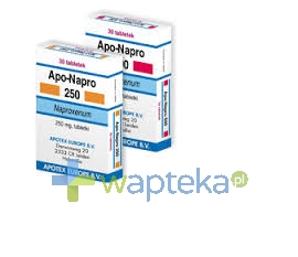 APOTEX EUROPE B.V. Apo-Napro 250mg tabletki 30 sztuk