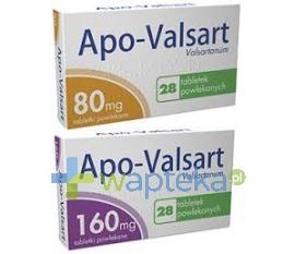 APOTEX EUROPE B.V. Apo-Valsart 160mg tabletki powlekane 28 sztuk