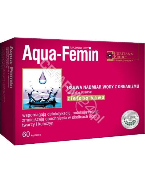 PURITAN'S PR Aqua-femin x 60 kaps