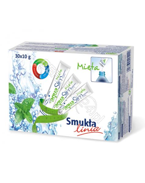 VITADIRECT Aqua slim mięta 10 g x 30 sasz