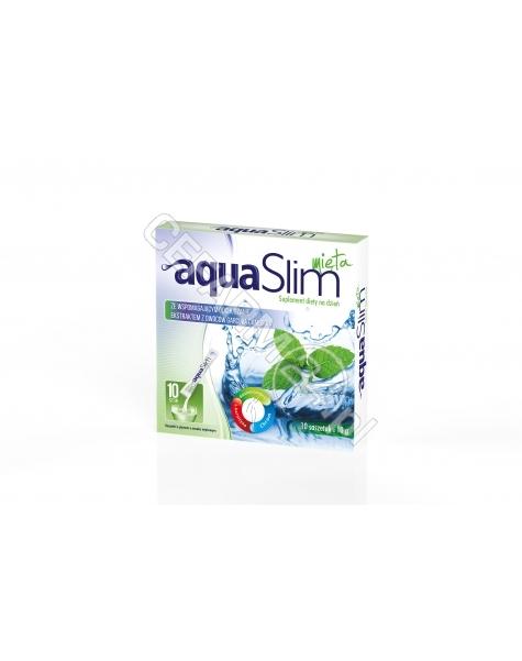 VALEANT Aqua slim mięta x 10 sasz