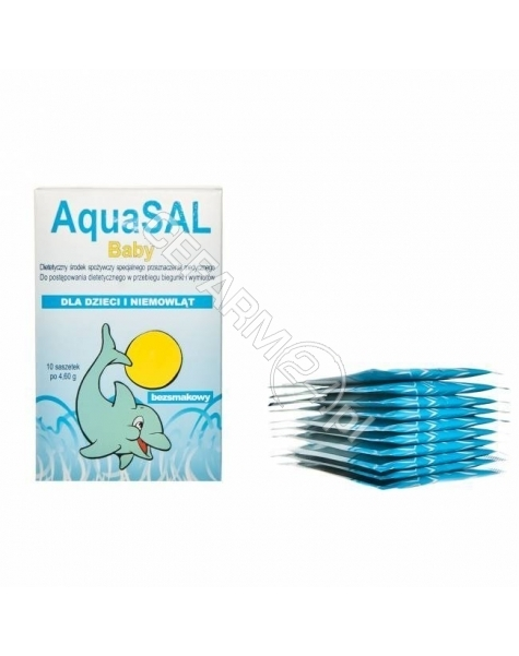 PROLAB AquaSal baby x 10 sasz
