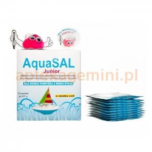 PROLAB AquaSal Junior, proszek o smaku coli, 10 saszetek OKAZJA