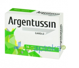 Solinea ArgenTussin Gardło, smak miętowo-cytrynowy, 16 pastylek