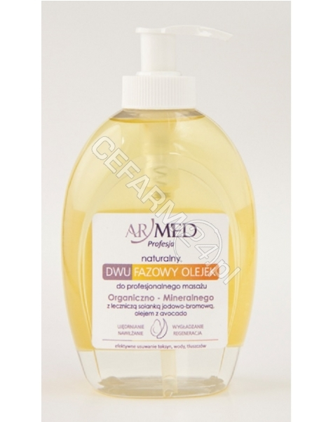 BAUMGART PHARMACEUTICALS ARMED naturalny dwufazowy olejek do masażu ujędrniającego 320 ml