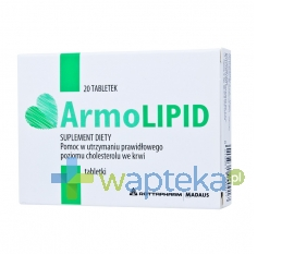 ROTTAPHARM S.P.A. ArmoLipid 20 tabletek
