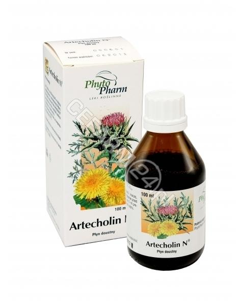 PHYTOPHARM K Artecholin n płyn doustny 4,55g/5ml 100 ml