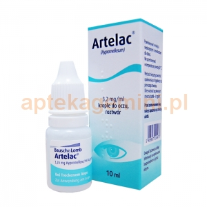 INPHARM Artelac 3,2mg/ml, 10ml, IMPORT RÓWNOLEGŁY