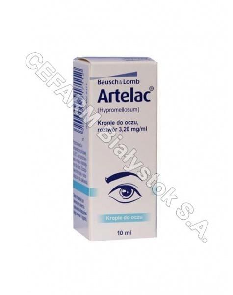 MANN Artelac krople oczne 10 ml
