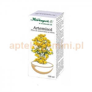 HERBAPOL KRAKÓW Artemisol, płyn na skórę, 100ml