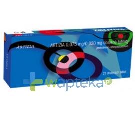 DELFARMA SP. Z O.O. Artizia tabletki drażowane 21 sztuk