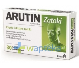 LEK-AM SP. Z O.O. P.F. Arutin Zatoki 30 tabletek