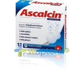 POLFA ŁÓDŹ S.A. Ascalcin 12 tabletek musujących