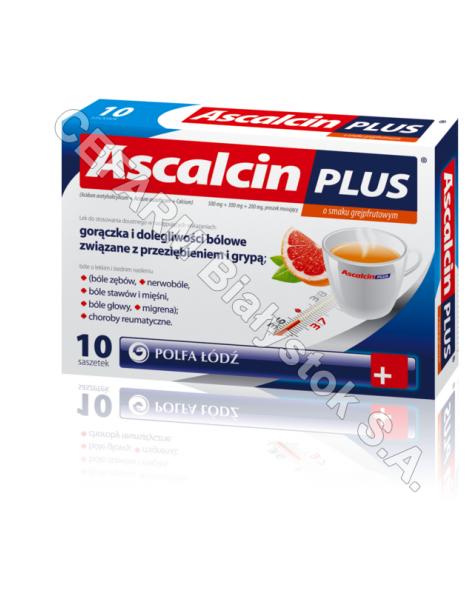 POLFA ŁÓDŹ Ascalcin plus grejpfrutowy x 20 sasz