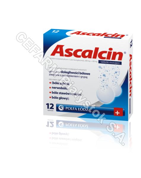 POLFA ŁÓDŹ Ascalcin x 12 tabl musujących