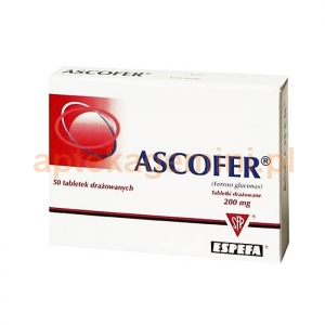 ESPEFA Ascofer, 50 drażetek