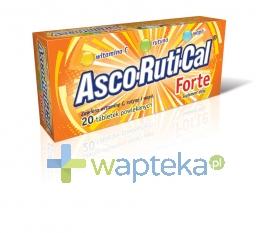 PRZEDSIĘBIORSTWO FARMACEUTYCZNE JELFA S.A. Ascorutical Forte tabletki powlekane 20 tabletek