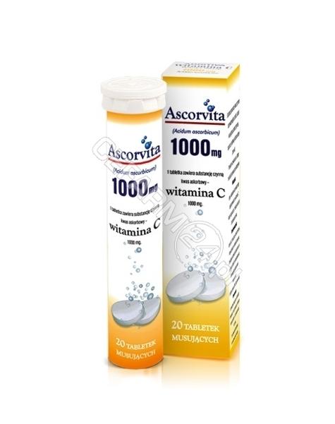 NP PHARMA Ascorvita 1000 mg x 10 tabl musujących o smaku cytrynowym