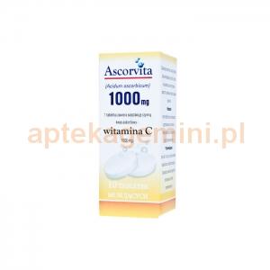 NATUR PRODUKT Ascorvita Witamina C (Additiva) 1000mg, 10 tabletek musujących