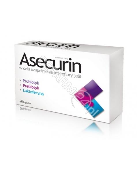 AFLOFARM Asecurin x 20 kaps