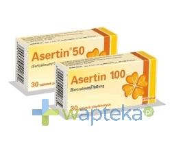 BIOFARM SP.Z O.O. Asertin 100 tabletki powlekane 100mg 30 sztuk