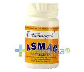 FARMAPOL Asmag, 50 tabletek