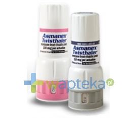 MSD POLSKA SP.Z O.O. Asmanex Twisthaler (400 mcg/dawkę) proszek do inhalacji 60 doz.