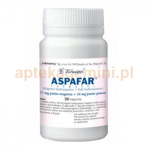FARMAPOL Aspafar Farmapol, 50 tabletek