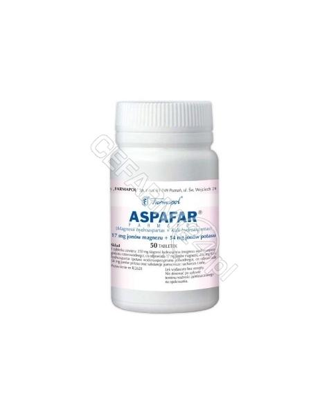 FARMAPOL Aspafar Farmapol x 50 tabl